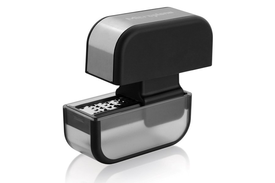 Терка для чеснока Easy Prep Microplane, черная
