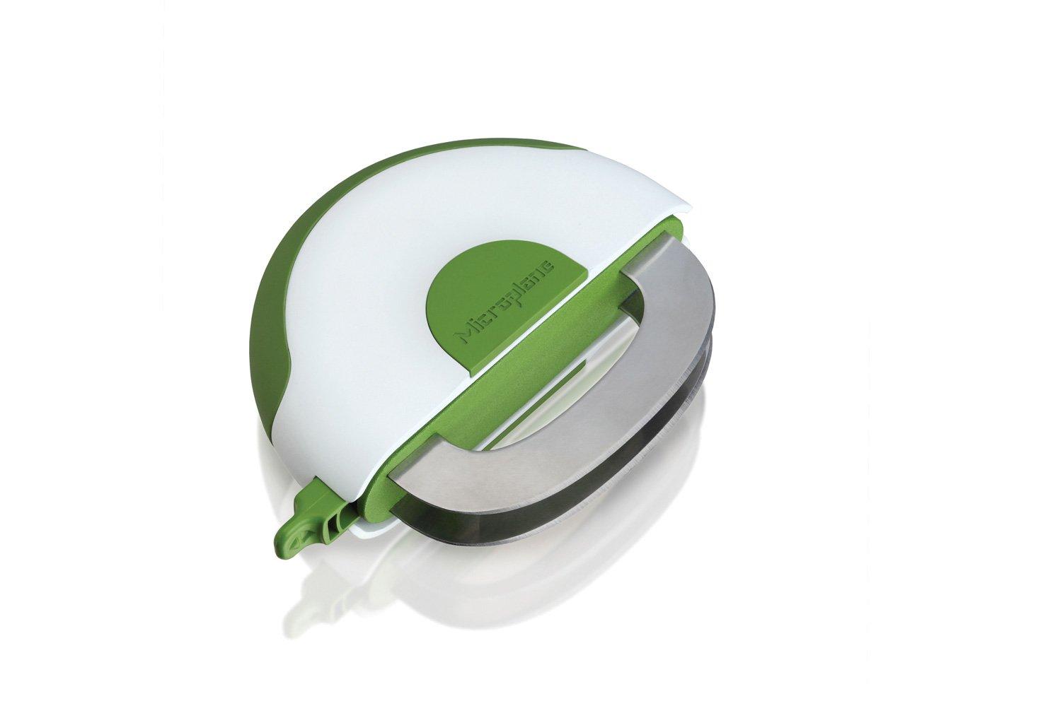 Нож для нарезки Easy Prep Microplane салатов, трав и зелени, белый